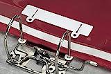 Durable 299602 Abheftschieber (zur Ablage in Ordnern) 50 Stück, weiß