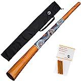 Australian Treasures - Didgeridoo ''natural paint'' + Bienenwachs + DidgeridooTasche