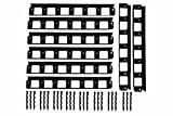 43m SHS Rasenkanten 40mm Beeteinfassung Mähkante Beetumrandung Raseneinfassung Plattenhalter Schiene Pave Edge Rasenkante