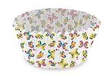 Dr. Oetker Mini Papier-Backförmchen Ø 3 cm, Backformen mit buntem Schmetterlingsmotiv, Förmchen für Cupcakes, Muffins oder Pudding - hitzebeständig bis 220°C, (Farbe: bunt), Menge: 96 Stück