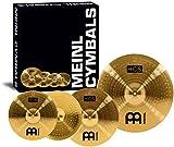 Meinl Cymbals HCS141620 HCS Serie Beckenset mit 35,56 cm (14 Zoll) Hihat, 40,64 cm (16 Zoll) Crash, 50,8 cm (20 Zoll) Ride