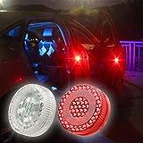 Auto Tür Anti Kollisions Magnetische Induktion LED-Licht Strobe-Lampe Wasserdichte Tür offen Warnleuchte, 2 Stück