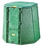 Juwel Komposter AEROQUICK 890 XXL, Kunststoff Thermokomposter für Küchen- und Gartenabfälle, ca. 900 l Nutzinhalt, aktives Belüftungssystem, UV-beständig, 107 x 107 x 109 cm, Art.-Nr. 20157