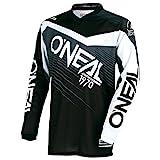 O'Neal Element Racewear Motocross Kinder Jersey Trikot MX Enduro Offroad Gelände Quad Cross Youth, 0006, Farbe Grau, Größe XL