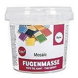 RAYHER 1460100 Fugenmasse, 1A Qualität, Dose 500 g, weiß