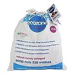 Ecozone SN1KG indische Waschnüsse, ersetzt Waschpulver und andere Waschmittel, preiswerter 1kg Beutel für bis zu 330 Waschgänge