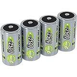 ANSMANN wiederaufladbar LSD Akku Batterie geringe Selbstentladung Baby C 2500mAh maxE NiMH vorgeladen sofort einsatzbereit ohne Memory-Effekt ready to use 4er Pack