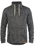 SOLID Luki Fleece Jacke, Größe:L;Farbe:Dark Grey Melange (8288)