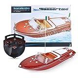 Maximum RC   Motorboot in toller Holzoptik   Ferngesteuertes Boot für Kinder   einfachste Steuerung