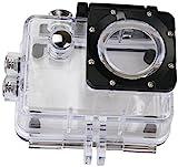 Rollei Unterwassergehäuse für Rollei Actioncam 372/510/610/525/625 - wasserdicht für Tauchtiefen bis zu 40 Meter - Transparent