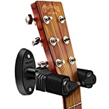 NEUMA Gitarrenständer, Wandhalterung für Gitarren / Bass / Banjo / Mandoline mit Automatioschem Verschluss