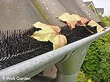 19,2m Ø15cm Laubschutz Rinnenraupe Laubfang Dachrinnenschutz Laubstop Regenrinnenschutz 3,95€/m