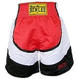BENLEE Rocky Marciano Box Shorts Dempsey, Rot/Schwarz/Weiß, L, 199130-1502
