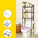 ACZZ Badezimmerablage, Toilettenablage, Stand, Toilettenablage,A,A erhalten