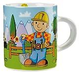 Minitasse aus Porzellan - Die richtige Größe für eine Kinderhand 'Bob der Baumeister'
