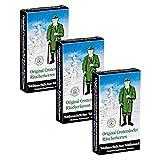 3er Pack Crottendorfer Räucherkerzen 'Weihnachtlicher Weihrauch' 3 x 24 Stück, Räucherkegel, Weihnachtskerzen, Räucherpyramiden