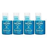 King of Shaves - Rasieröl Sensitive - für empfindliche Haut - 15 ml - Viererpack