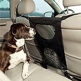 Hundebarriere, Legendog Gitter für Auto Hund Haustier Barriere Sehen Durch Netz Hund Auto Rücksitz Barriere