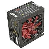 HKC V-POWER 650 Watt ATX PC-Netzteil, Schutzschaltkreise: OPP, OCP, OVP, SCP, 20+4pin Stromversorgung, PFC, leise, 120mm FAN (V-650)