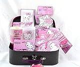 Mädchen Geburtstags Set im Koffer Charmmy Kitty, 75-teilig Kindergeburtstag, Partyausstattung