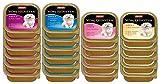 Animonda vom Feinsten Hundefutter Adult Mix 2 aus 4 Varietäten, 22er Pack (22 x150 g)