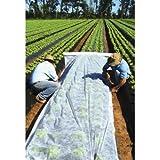 Gartenvlies 1,6/3,2x5-100m weiß Pflanzvlies weiß zur Abdeckung von Gemüsebeeten (1,6X100M)
