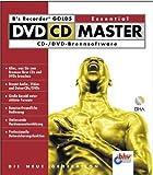 B's Recorder Gold 5 Essential DVD CD Master, 1 CD-ROMCD- / DVD-Brennsoftware. Für Windows 98, Me, 2000, XP