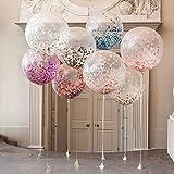 Hemore Folienballons, Mehrfarbig, 10 Stück, für Hochzeitstag/Geburtstag/Party/Abend/Weihnachten.