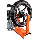 Hi-Q Tools Auswuchtgerät Motorrad Auswuchtgerät passend für fast alle Motorrad- und Rollerfelgen , integrierte Wasserwaage, höhenverstellbare Füße