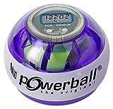 Kernpower Powerball Multi-Light AutoStart Max gyroskopischer Hand- und Armtrainer inklusive Autostart-Mechanik zum Aufziehen und mit digitalem Drehzahlmesser
