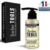 BARBER TOOLS  Rasiergel transparent 100 ml - für eine präzise Rasur der Bartkonturen (Sichtbarkeit, Gleitfähigkeit und maximaler Schutz) - hergestellt in Frankreich