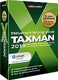 Lexware Taxman 2019 für das Steuerjahr 2018|Übersichtliche Steuererklärungssoftware für Arbeitnehmer, Familien, Studenten und im Ausland Beschäftigte|Kompatibel mit Windows 7 oder aktueller