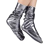 VENMO Frauen Männer Socken Casual Arbeit Business Socke Reflektierende solide Fashion Sock Komfortabel kurze Socken Arbeitssocken Sneaker Sportsocken Jogging Freizeit Atmungsaktiv Socken (Grey)