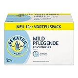 Penaten Mild Pflegende Feuchttücher/Babypflegetücher ohne Alkohol, dermatologisch getestet/Vorteilspack: 12x56 Stück