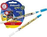 Pelikan 4001 Griffix Großraum-Tintenpatronen 2 x 5 Stück Blisterpackung + 2 Tintenlöscher Super Pirat B + F
