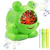 Gifort Frosch Blase Gebläse Maschine, automatische AA Batterie betrieben (Batterie nicht im Lieferumfang enthalten) Blase Maschine cute Form hohe Ausgabe tragbare Indoor / Outdoor Ideal Spielzeug für Kinder