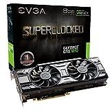 EVGA GeForce GTX 1070 SC GAMING ACX 3.0 Black Edition, 8GB GDDR5, LED, DX12 OSD Support (PXOC) Grafikkarte 08G-P4-5173-KR