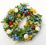 Blütenkranz Blumenkranz Türkranz Frühling Marienkäfer Ø 32