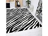 Oedim Zebras Haut drucken Teppich PVC | 95x165cm | PVC-Teppich | Vinylboden | Dekoration