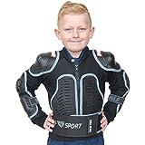 Wulfsport Kinder Motorrad-Schutzjacke - Körperpanzer - Motocross - Schwarz - 146