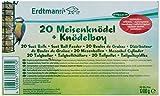 Erdtmanns 20 Meisenknödel ohne Netz plus 1 Knödelboy, 1er Pack (1 x 1.793 kg)