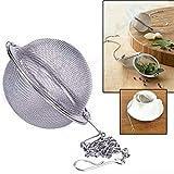 Vige Mesh Filter Kräuter Ball Kochen Küchenwerkzeuge 304 Edelstahl Teesieb Infuser Tee Locking Gewürzkugel Tee Gewürz