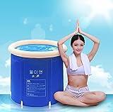 Bathtub Folding Wannenbad Fass Erwachsenen Wanne aufblasbare Badewanne, dicker Plastikeimer Badewanne. ( größe : L )