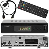 Anadol ADX 111c digitaler Full HD Kabel-Receiver [Umstieg Analog auf Digital] inkl. XAiOX HDMI Kabel (HDTV, DVB-C / C2, HDMI, Chinch-Video, Mediaplayer, USB 2.0, 1080p) [autom. Installation]- schwarz