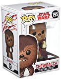 Funko 14748 POP! Bobble: Star Wars: E8 TLJ: Chewbacca w/ Porg (POP 7)