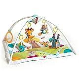 Tiny Love Baby Spieldecke Gymini Deluxe, Into The Forest, Krabbeldecke mit verstellbaren Spielbögen, nutzbar ab der Geburt (0M+), 88 x 78 cm, mehrfarbig