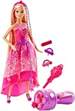Barbie DKB62 - Modepuppen, 4 Königreiche, Zauberhaar Flechtspaß Prinzessin