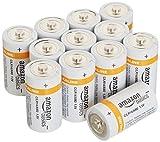 AmazonBasics Batterien Alkali, Typ C, 12Stück