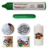 Wachsdesigner grün glänzend 30 ml inkl. ausführlicher Anleitung mit Bilder