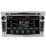 AWESAFE 2-DIN Autoradio mit Navi für Opel, 7 Zoll Touchscreen Radio unterstützt Lenkrad Bedienung USB SD RDS Bluetooth